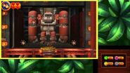 Donkey Kong Country Returns 3D - Level 9-7 Robo Factory 100% Walkthrough (3DS Exclusive Level)