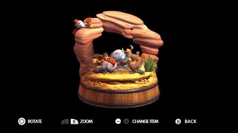 Donkey Kong Country Tropical Freeze - Level 3-Boss Triple Trouble