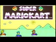 Super Mario Kart SNES Commercial - Retro Game Trailers