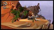 Donkey Kong Country Returns 100% (6-5 Precarious Plateau)