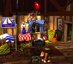 Donkey Kong and Diddy Kong's Treehouse