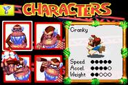 Cranky DKP2003 selección de personaje