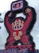 DKJr Wii U original arcade Donkey Kong statue Super Mario Country Tropical Freeze