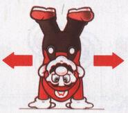 Mario Handstand