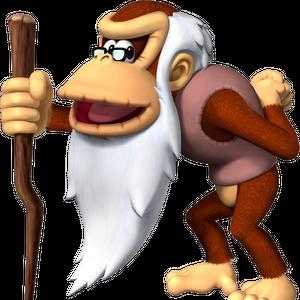 Cranky Kong, DK Jungle Climber.png