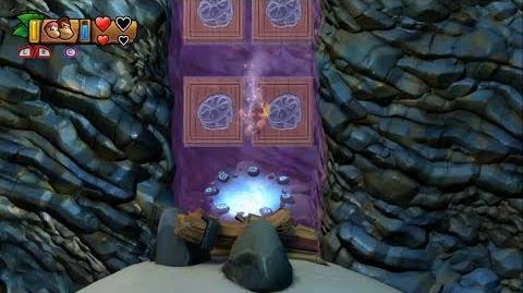 Donkey Kong Country Tropical Freeze - Level 5-4 Unlocking Bonus Stage 5-B