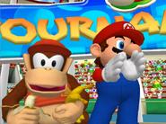 Mario Power Tennis Diddy Kong