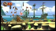 Donkey Kong Country Returns 100% (2-4 Cannon Cluster)