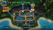 DKCR Level 4 B The Mole Train