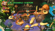 DKCR Level 6 6 Crumble Canyon
