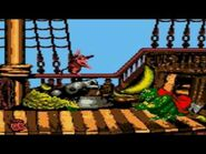 Donkey Kong Country -GBC- - Gangplank Galleon