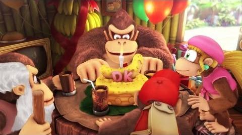 Donkey Kong Country Tropical Freeze - Overview Trailer (Wii U)