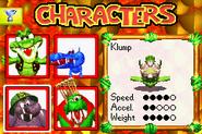 Klump DKP2003 menú