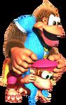 Dixie Kong & Kiddy Kong