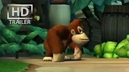 Donkey Kong Country Returns OFFICIAL E3 trailer Nintendo Wii