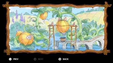 Donkey Kong Country Tropical Freeze - Level 5-5 Jelly Jamboree All Puzzle Pieces KONG Letters