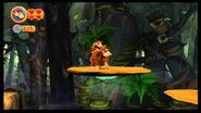 Donkey Kong Country Returns 100% (5-2 Clingy Swingy)