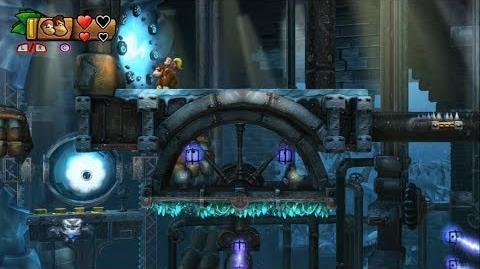 Donkey Kong Country Tropical Freeze - Level 6-7 Unlocking Bonus Stage 6-A