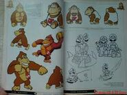 Old Classic.Donkey Kong Sr. Cranky Kong and Donkey Kong Junior artwork Comic4