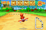 DKP - Captura de pantalla Letras KONG