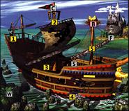 DKC2DQ GangPlank Galleon Render