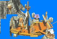 DKC2 GBA - Gangplank Galleon