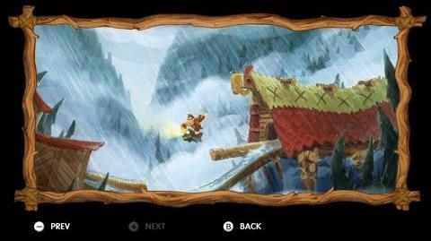 Donkey Kong Country Tropical Freeze - Level 2-4 Sawmill Thrill All Puzzle Pieces KONG Letters