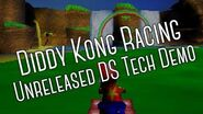 Diddy Kong Racing Unreleased Tech Demo for Nintendo DS