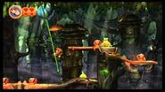 Donkey Kong Country Returns 100% (5-1 Vine Valley)