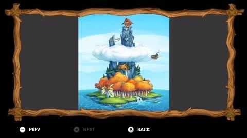 Donkey Kong Country Tropical Freeze - Level 2-6 Wing Ding All Puzzle Pieces KONG Letters