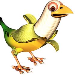 Pájaro Banana