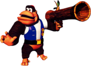Chunky kong bazooka