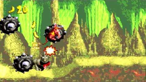 Donkey Kong Country (GBA) - Chimp Caverns - Manic Mincers