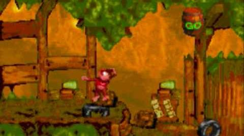 Donkey Kong Country Level 2-4 Stop & Go Station