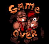 DKCGBC GAME OVER