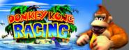 Donkey Kong Arte y Logo - Donkey Kong Racing