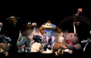Donkey Kong Racing - Kiddy riding Ellie