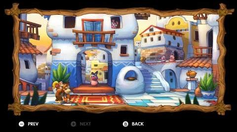 Donkey Kong Country Tropical Freeze - Level 5-B Jammin' Jams All Puzzle Pieces KONG Letters