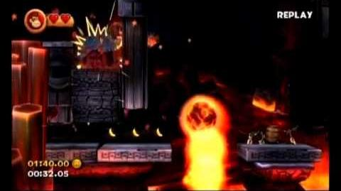 Donkey Kong Country Returns - 8-1 Furious Fire - 58