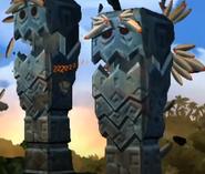Large Screaming Pillar DKCR