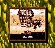 Klubba Credits Screen - Donkey Kong Land 2