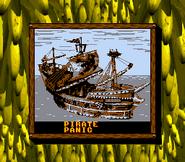 Pirate Panic on World Map (Donkey Kong Land 2)