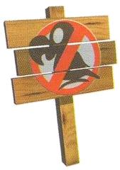 No Animal Sign