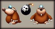Mole Guards DKCR