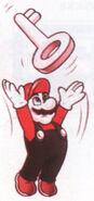Mario Throwing a Key