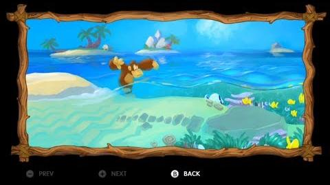 Donkey Kong Country Tropical Freeze - Level 4-1 Deep Keep All Puzzle Pieces