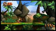 Donkey Kong Country Returns 100% (1-5 Canopy Cannons)