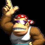 Funky Kong Artwork - Mario Kart Wii.png