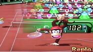Diddy kong mario power tennis