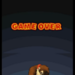 DK Jungle Climber game over screen.png